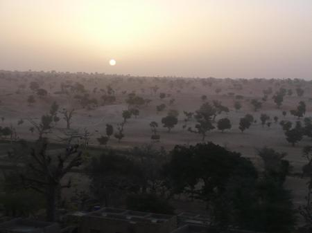 Sunrise_in_tireli_of_dogon_country