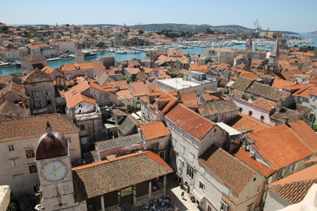 Trogir_from_cathedral_of_saint_lawr