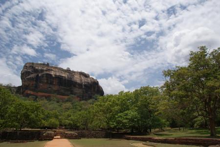 Sigiriya_rock