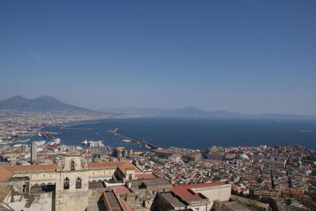 View_from_castel_santelmo_in_napoli
