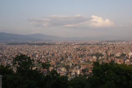 View_from_swayambhunath_in_nepal
