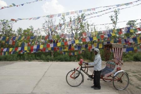 Rickshaw-in-lumbini