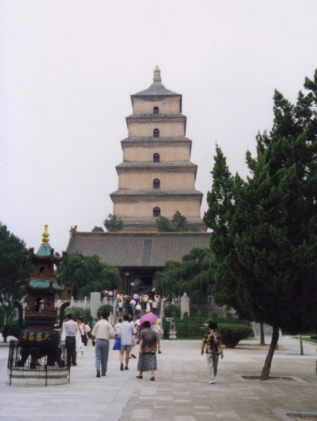 Giant-wild-goose-pagoda-of-dacien-temple